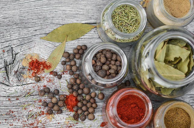 herbal jars